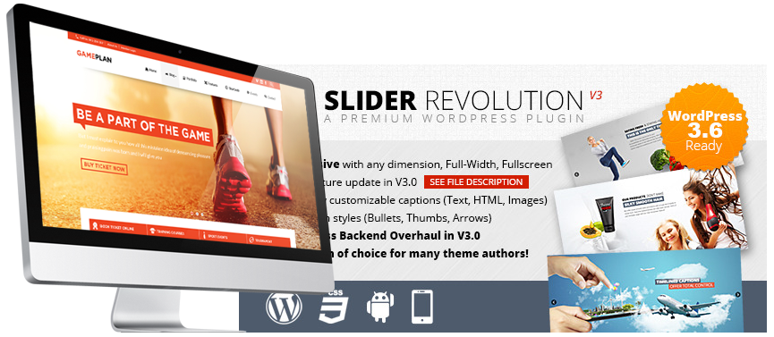 Revolution Slider Generator | Violetweb ca